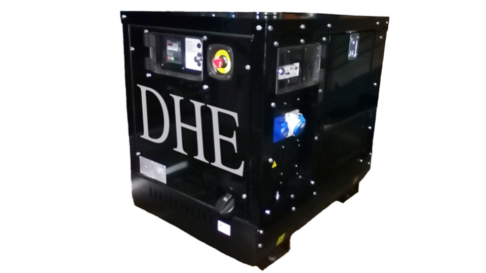 Hampshire Stage Hire 8KVA Ultra Silent Road Towable Diesel Generator